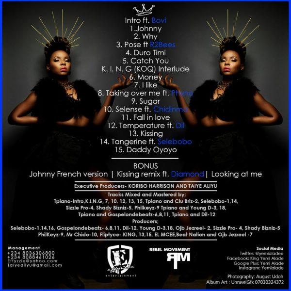 Yemi Alade - Album Cover