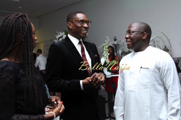 Pastor Tony Rapu & Yomi Awodokun ( CEO, Oando Marketing)