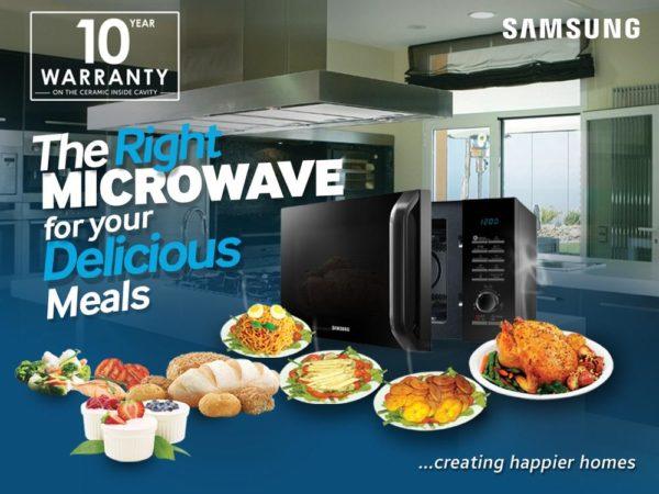 samsung smart microwave microwave -  Bella Naija