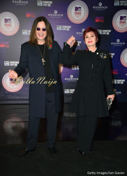 Ozzy & Sharone Osbourne