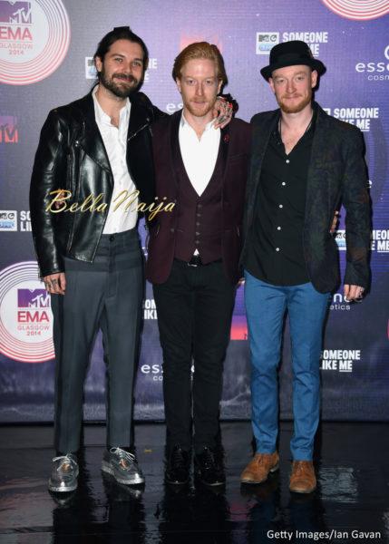 Simon Neil, Ben Johnston and James Johnston