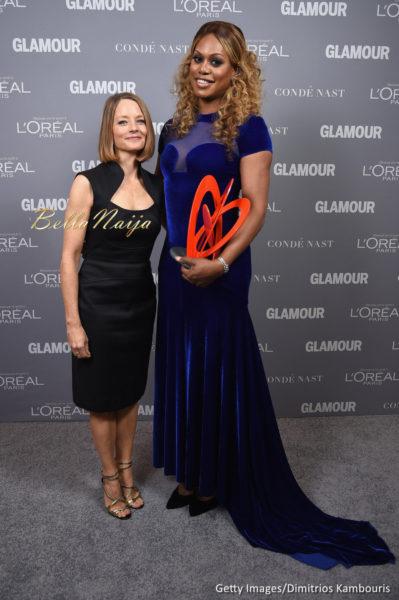 Jodi Foster & Laverne Cox