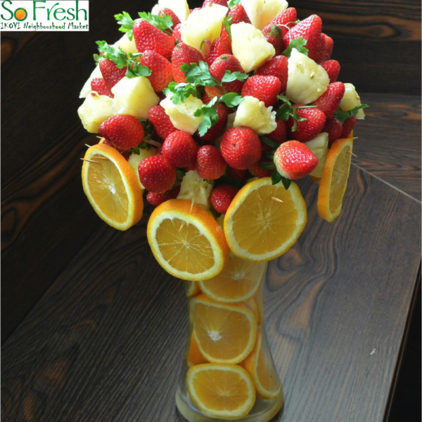 how to keep edible fruit arrangements fresh