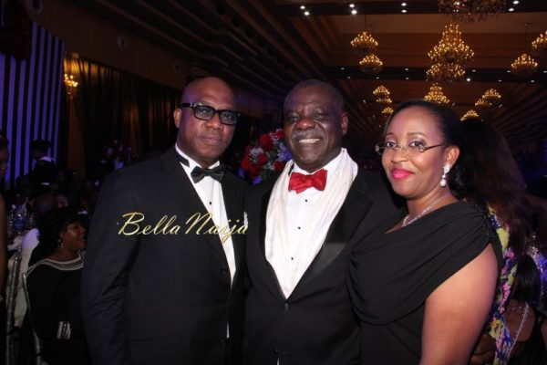 Dapo Abiodun, Alaba Shonibare & wife