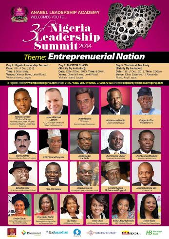 3rd Nigeria Leadership Summit - Bellanaija - November 2014