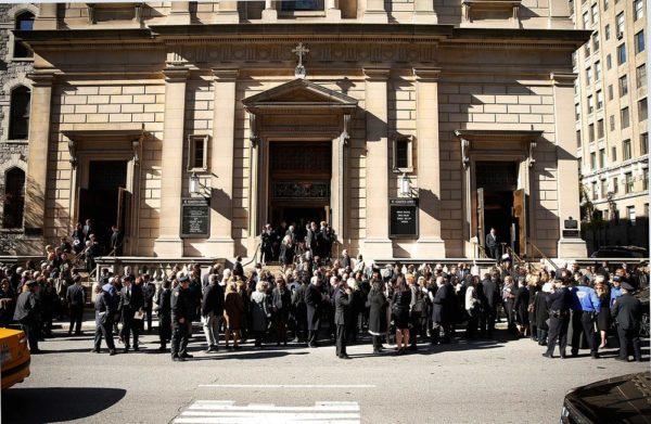 Oscar De La Renta's Funeral