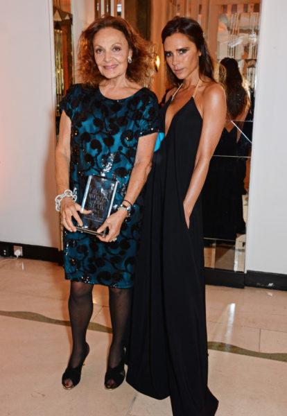 Diane von Furstenberg & Victoria Beckham