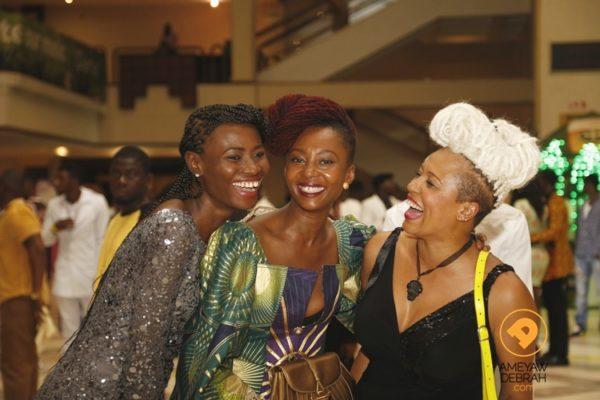 Makeba Boateng, Bee Arthur and Belinda Baidoo