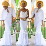 @empress_jamila, mua & gele by @facesofleon, outfit by @shebybena, photo by @niidjarbeng_lightville
