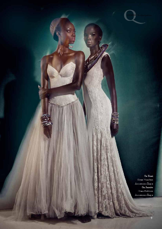 Africa's Next Top Model's Opeyemi & Aamito Stacie Lagum for Ingqephu Magazine - Bellanaija - November 2014004 (2)