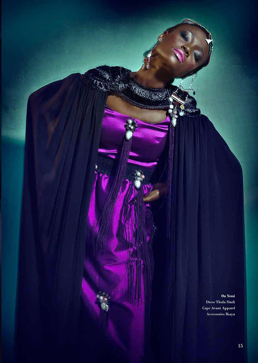 Africa's Next Top Model's Opeyemi & Aamito Stacie Lagum for Ingqephu Magazine - Bellanaija - November 2014004 (7)