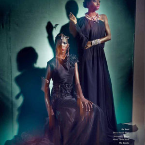Africa's Next Top Model's Opeyemi & Aamito Stacie Lagum for Ingqephu Magazine - Bellanaija - November 2014004 (8)