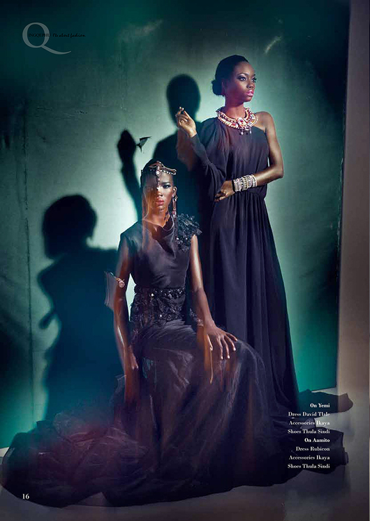 Africa's Next Top Model's Opeyemi & Aamito Stacie Lagum for Ingqephu Magazine - Bellanaija - November 2014004 (8)