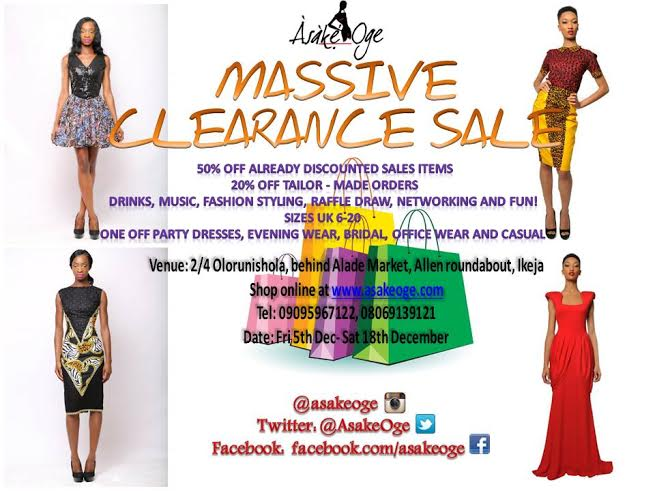 Asake Oge Fashion Sales Party - BellaNaija - November 2014