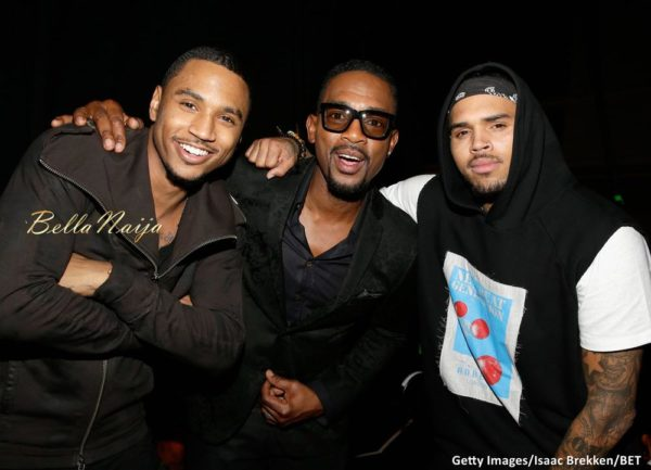 Trey Songz, Bill Bellamy & Chris Brown