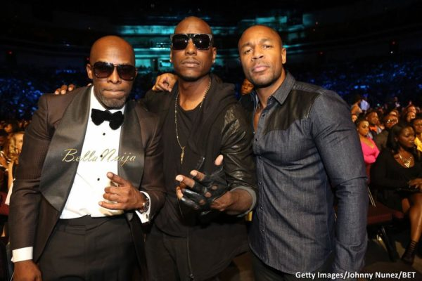 Joe, Tyrese & Trey Songz