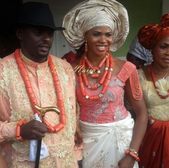Blessing Okagbare & Igho Otegheri Wedding | BellaNaija | November 2014 003.Hakeem Blessings Frnd 20141107_225336