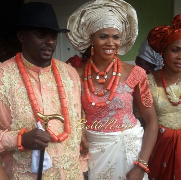Blessing Okagbare Wedding BellaNaija 2014 1