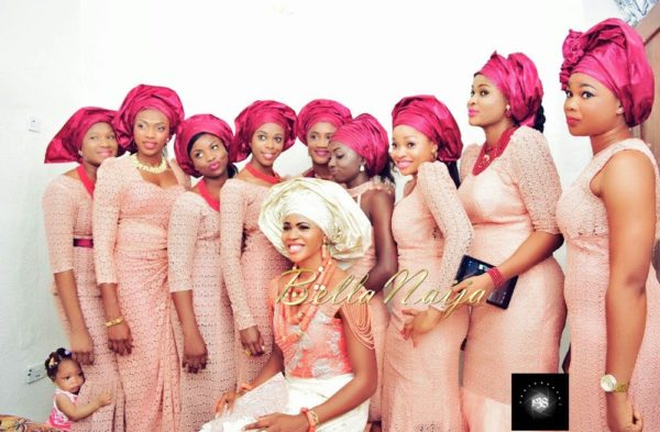 Blessing Okagbare Wedding BellaNaija 2014 2