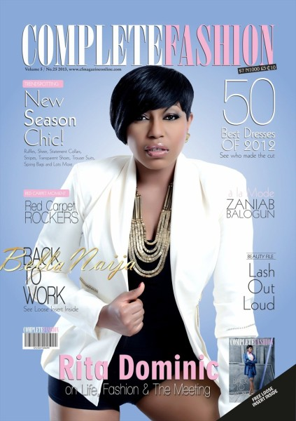 Who 39 S That Hot Superstar On The Cover Of Complete Fashion Magazine 39 S January 2013 Issue It 39 S