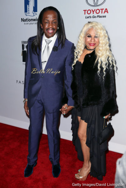 Verdine White & Shelly Clark