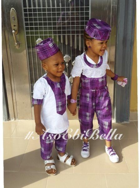 Fabric by Prestigewears n accessories by Blesteel