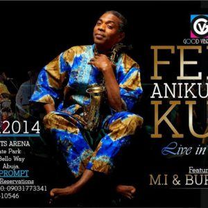Femi Anikulapo Kuti Live in Abuja - Bellanaija - November 2014