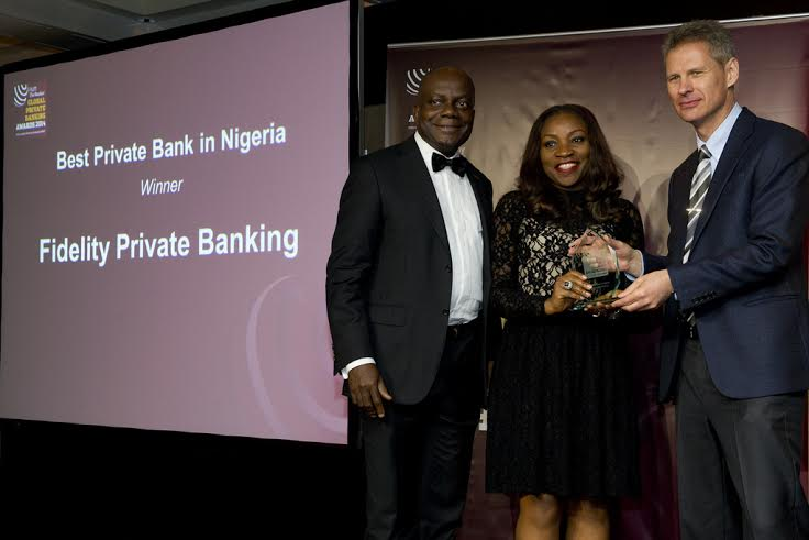 "Fidelity Private Banking wins Financial Times ""Best Private Bank Award 2014"" - Bellanaija - November 2014"