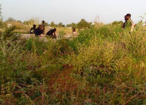 Fleeing Soldiers