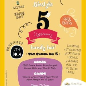 Fusion Lifestyle 5th Anniversary - BellaNaija - November 2014