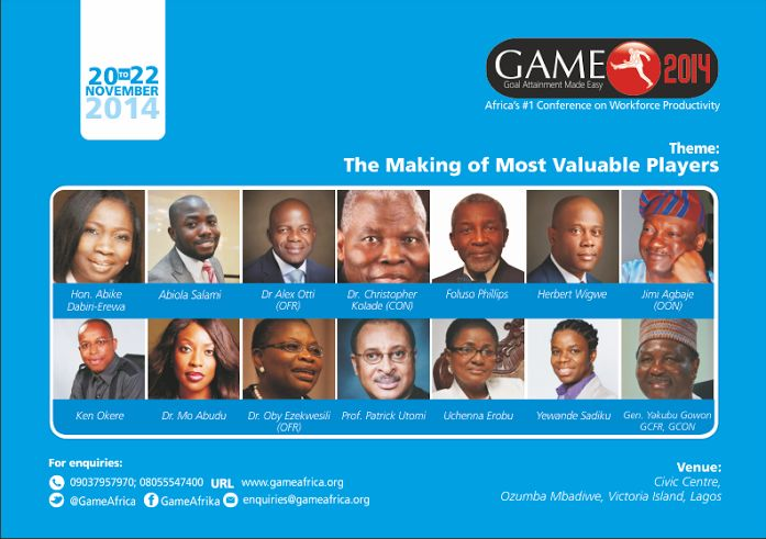 GAME 2014 - Bellanaija - November 2014