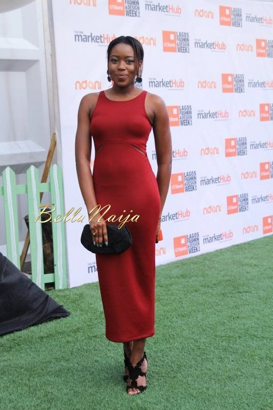 GTBank Lagos Fashion & Design Week 2014 Day 3 Red Carpet - Bellanaija - November2014001