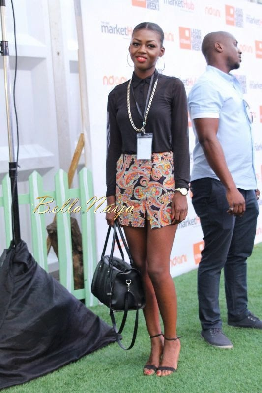 GTBank Lagos Fashion & Design Week 2014 Day 3 Red Carpet - Bellanaija - November2014003