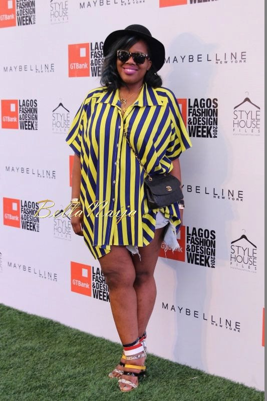 GTBank Lagos Fashion & Design Week 2014 Day 3 Red Carpet - Bellanaija - November2014004