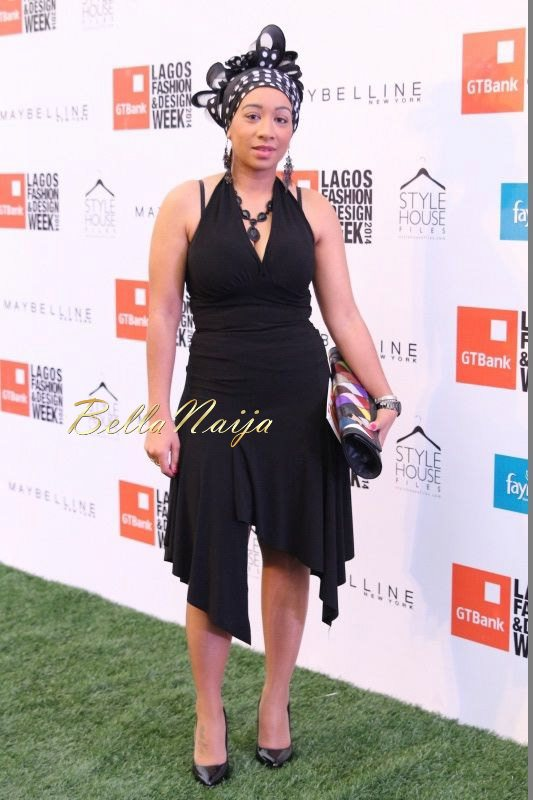 GTBank Lagos Fashion & Design Week 2014 Day 3 Red Carpet - Bellanaija - November2014005