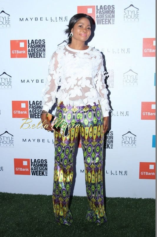 GTBank Lagos Fashion & Design Week 2014 Day 3 Red Carpet - Bellanaija - November2014029