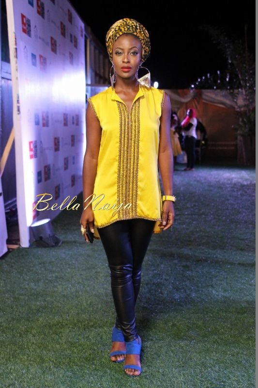 GTBank Lagos Fashion & Design Week 2014 Day 3 Red Carpet - Bellanaija - November2014066