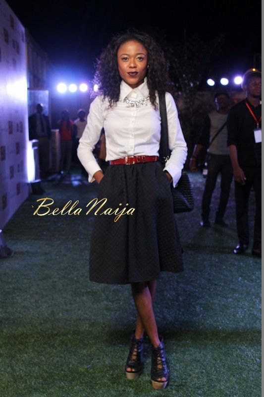GTBank Lagos Fashion & Design Week 2014 Day 3 Red Carpet - Bellanaija - November2014067