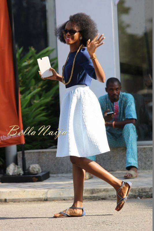 GTBank Lagos Fashion & Design Week 2014 Day 3 Street Style - Bellanaija - November2014008