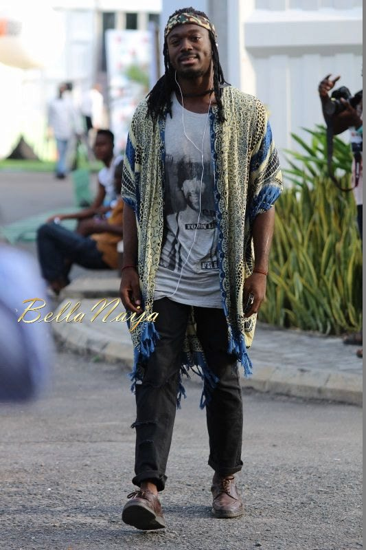 GTBank Lagos Fashion & Design Week 2014 Day 3 Street Style - Bellanaija - November2014024