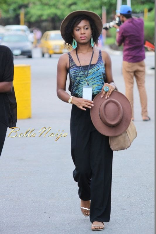 GTBank Lagos Fashion & Design Week 2014 Day 3 Street Style - Bellanaija - November2014035