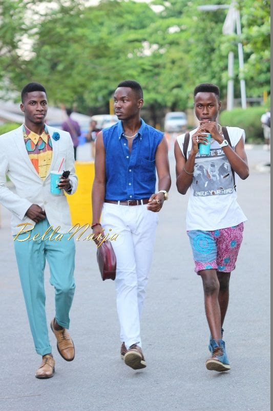 GTBank Lagos Fashion & Design Week 2014 Day 3 Street Style - Bellanaija - November2014039