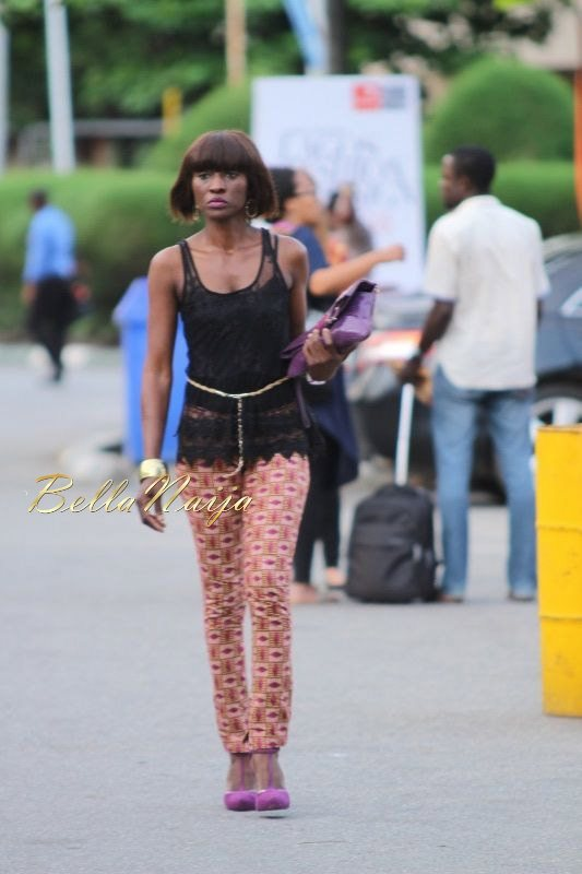 GTBank Lagos Fashion & Design Week 2014 Day 3 Street Style - Bellanaija - November2014044
