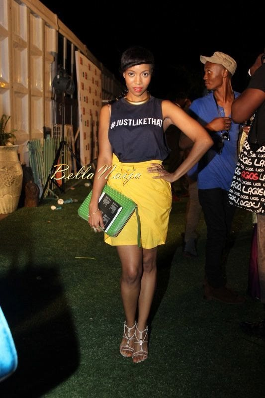 GTBank Lagos Fashion & Design Week 2014 Day 4 Red Carpe - Bellanaija - November2014077