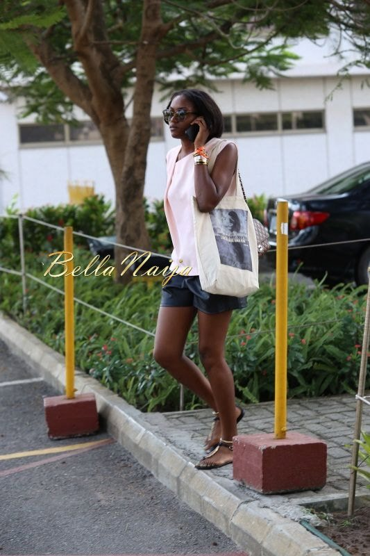 GTBank Lagos Fashion & Design Week 2014 Day 4 Street Style - Bellanaija - November2014001