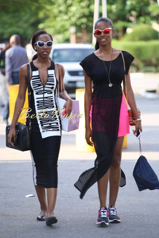 GTBank Lagos Fashion & Design Week 2014 Day 4 Street Style - Bellanaija - November2014007