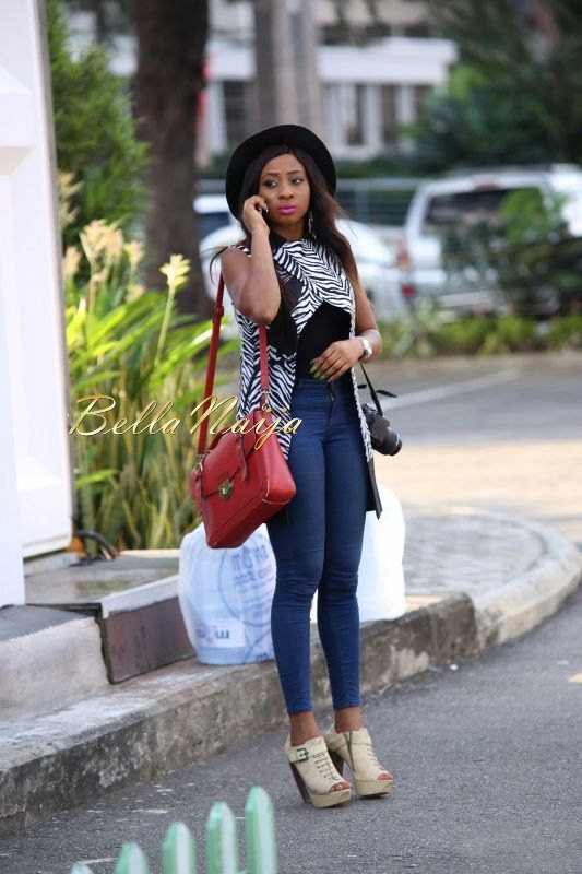 GTBank Lagos Fashion & Design Week 2014 Day 4 Street Style - Bellanaija - November2014010