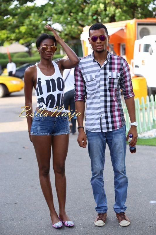 GTBank Lagos Fashion & Design Week 2014 Day 4 Street Style - Bellanaija - November2014013