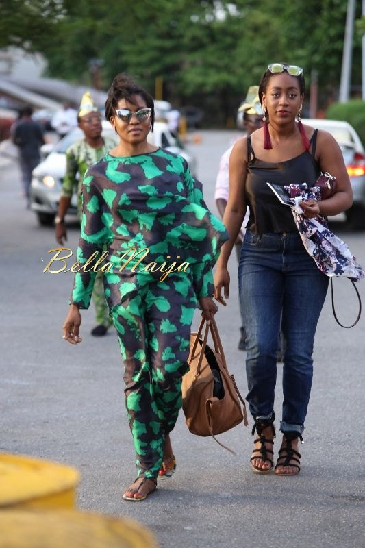 GTBank Lagos Fashion & Design Week 2014 Day 4 Street Style - Bellanaija - November2014024