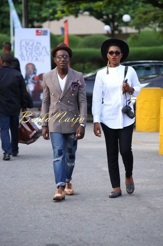 GTBank Lagos Fashion & Design Week 2014 Day 4 Street Style - Bellanaija - November2014026